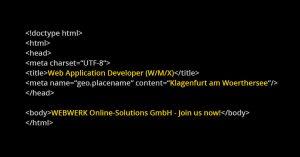 webwerk-job-web-application-developer-in