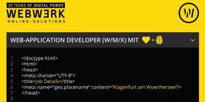webwerk-job-web-application-developer-w-m-x